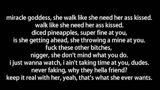 Fabolous ft. Trey Songz & Cassie - Diced Pineapples (Lyrics On Screen)