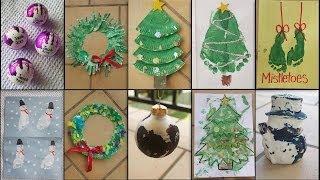 getlinkyoutube.com-10 CHRISTMAS CRAFTS FOR TODDLERS & KIDS!