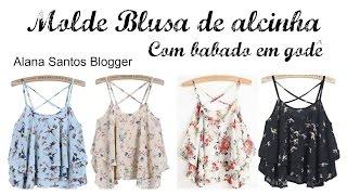 getlinkyoutube.com-Molde  blusa de alcinha godê Alana Santos Blogger