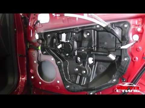 Шумоизоляция дверей Mazda CX-5
