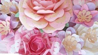 getlinkyoutube.com-Fiori di carta New Style - New Style paper flowers
