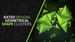 getlinkyoutube.com-How To Make Geometrical Shape Clusters In Photoshop By Rated Designs