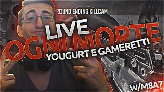 "getlinkyoutube.com-BO3 | ""Sto Per Sbrattare in live!"" Ogni Morte...Gamberetti e Yogurt! by JTF Silver"