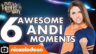 getlinkyoutube.com-Every Witch Way | Six Awesome Andi Moments | Nickelodeon UK