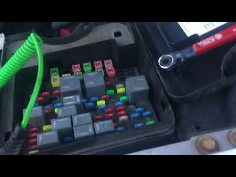 Ford F1 50 with battery draw how to fix