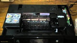 getlinkyoutube.com-Kodak Hero 9.1 AiO Printer Disassembly