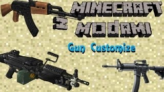 getlinkyoutube.com-Minecraft z modami #41 - GunCustomize - broń palna w Minecraft!