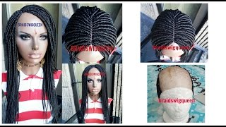 getlinkyoutube.com-How To Make Box Braid Wig with NO Closure/Frontal