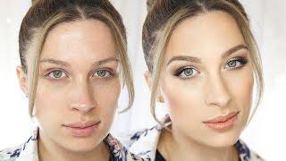 getlinkyoutube.com-• Pełne rozświetlenie - uniwersalny, świetlisty makijaż || KATOSU •
