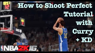 getlinkyoutube.com-NBA 2K16 Tips How to Shoot Perfect jumpshots. Open Perfect Release 24/7 Tutorial #5