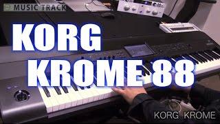 getlinkyoutube.com-KORG KROME Demo&Review [English Captions]
