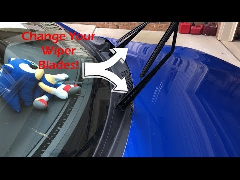 (How To): Change Windshield Wiper Blades on 2016 Subaru BRZ