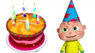 getlinkyoutube.com-Happy Birthday Song | Nursery Rhymes Collection | Videogyan 3D Rhymes & Children Songs