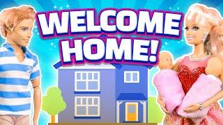 getlinkyoutube.com-Barbie's Baby Part 5 - Welcome Home!