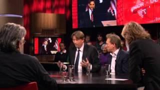 getlinkyoutube.com-Maarten Van Rossem Arend Jan Boekestijn in DWDD over Obama en Irakoorlog