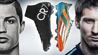 getlinkyoutube.com-Ronaldo VS Messi - Boot Battle: Nike Superfly CR7 vs. adidas F50 Adizero Test & Review