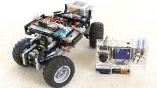 getlinkyoutube.com-DIY RC: Handheld Arduino + Servo-Powered Lego!!
