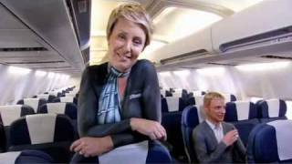 getlinkyoutube.com-Air New Zealand body painted in-flight safety video