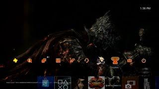 Dark Souls III Fire Fades dynamic theme PS4