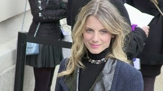 getlinkyoutube.com-Caroline de Maigret, Anne Sinclair, Melanie Laurent and more at the Chanel Haute Couture Fashion Sho