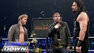"""getlinkyoutube.com-""""The Highlight Reel"""" welcomes special guests Roman Reigns and Dean Ambrose: SmackDown, Jan. 28, 2016"""