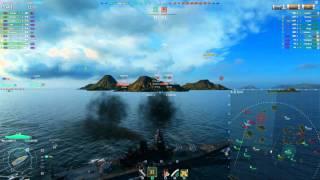 getlinkyoutube.com-YAMATO - 290.000 damage . World of warships.