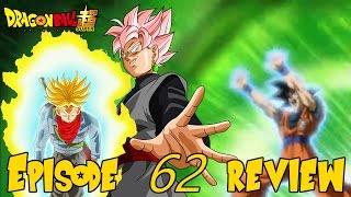 getlinkyoutube.com-(REVIEW) Dragon Ball Super Episode 62, God Trunks VS Goku Black & The Mafuba! ドラゴンボール超