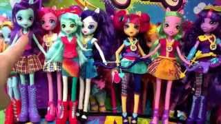 getlinkyoutube.com-My Little Pony Equestria Girls Rainbow Rocks Lyra Heartstrings Doll Review and Unboxing!