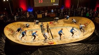 getlinkyoutube.com-Track Cycling in Denmark - Red Bull Mini Drome 2013