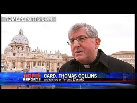 Cardinal Thomas Collins  leader of Canada's largest diocese