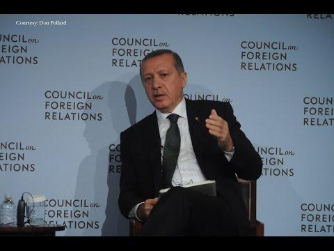 Turkish President Erdogan on ISIS and Regional Security