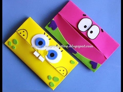 PORTAKLEENEX INFANTIL/ SpongeBob carries scarves DIY