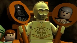 getlinkyoutube.com-LEGO Star Wars: The Complete Saga Walkthrough Part 29 - The Battle of Endor (Episode VI)