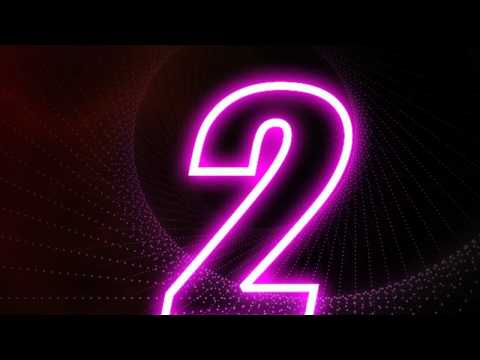 For Final Exam - Countdown Glow Number [Adobe After Effects]
