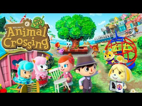 Animal Crossing New Leaf- La caza del huevo con Coti Conejal :P