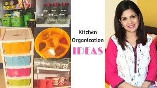 Kitchen Organization Ideas- Kitchen Storage Ideas