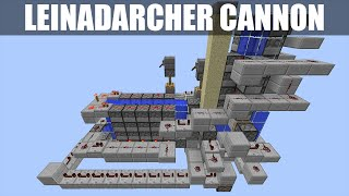getlinkyoutube.com-Minecraft: Compact Leinadarcher Cannon [1.8.8 & 1.8.9 Only] [Can Do Everything!] [Tutorial]