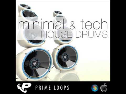 Prime Loops Minimal & Tech House Drums WAV