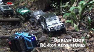 getlinkyoutube.com-RC Scale Trucks Offroad Adventures RC Toyota Hilux Land Rover Defender 90 G Wagon Suzuki Jimny