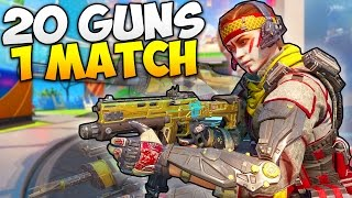 "getlinkyoutube.com-""20 GUNS IN 1 GAME!!"" - Black Ops 3 INSANE CHALLENGE - [Call of Duty Gameplay]"