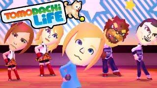 getlinkyoutube.com-Tomodachi Life 3DS Pokemon Pop, Zelda Dance, Goofy Tooth Gameplay Walkthrough PART 6 Nintendo Mii