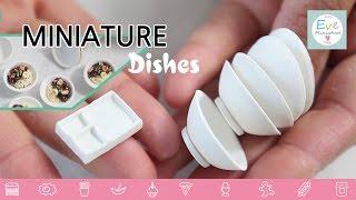 미니어쳐 그릇 만들기 miniature bowl polymerclay food