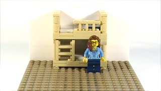 getlinkyoutube.com-Hey Can You Show Me How To Make That? -LEGO Bunk Bed