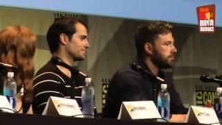 getlinkyoutube.com-Warner Bros. DC Comics - full panel SDCC 2015 Batman v Superman & Suicide Squad