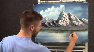 getlinkyoutube.com-Paint with Kevin - Spring Mountain wet on wet HD
