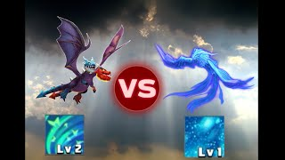 getlinkyoutube.com-Clash Of Lords 2 Hydrasaur Divine VS Sapphirix Divine