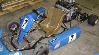 getlinkyoutube.com-GSX-R 600 Kart - First Ride