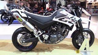 getlinkyoutube.com-2015 Yamaha XT 660X Tenere Walkaround - 2014 EICMA Milan Motorcycle Exhibition