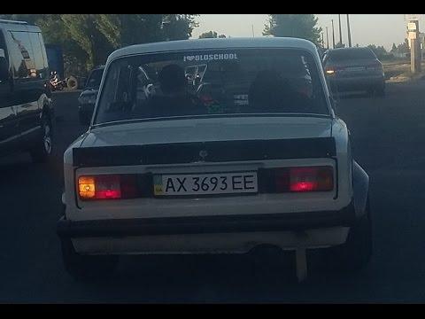 ВАЗ-2101 с самыми широкими колесами?!