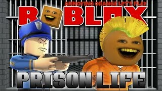 Annoying Orange Plays - ROBLOX: Prison Life